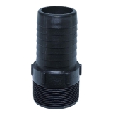 Poly Threaded/Barbed  Fittings