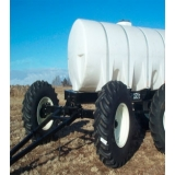 Portable Cone Bottom Trailers & All Steer Carts