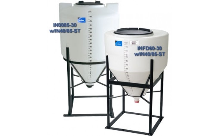 60 Gallon Inductor Tank - Low Profile | Ag Sprayers Parts
