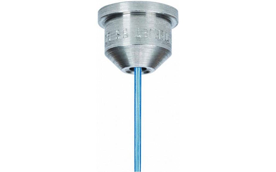 Streamjet solid stream spray nozzles call for special